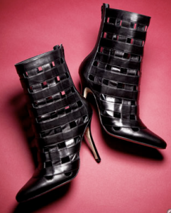 Manolo Blahnik's Cage Boot