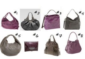 Charcoal and Wine Bags