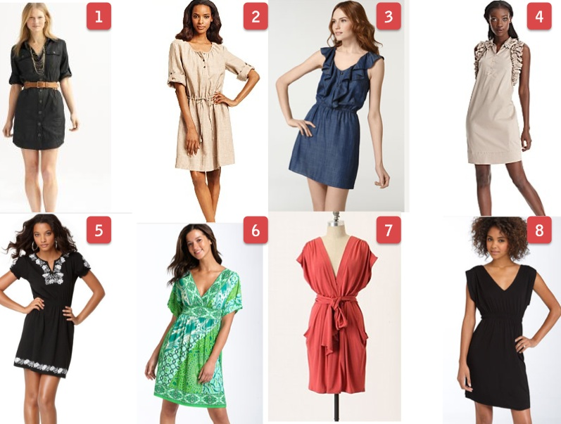 "The New ""Throw on and Go"": Daytime Dresses 