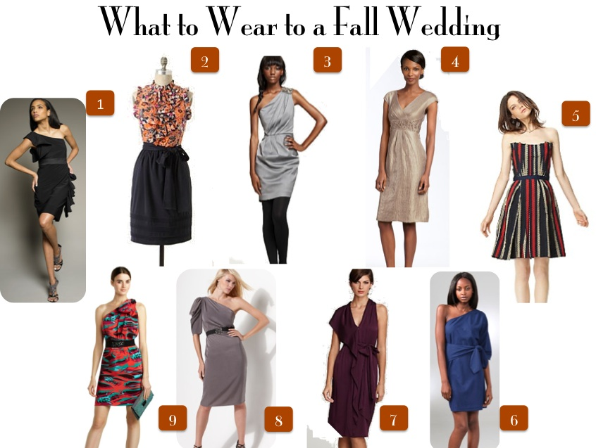 What To Wear A Fall Wedding Weve